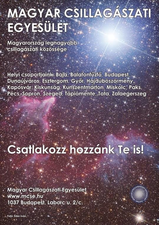Érdeklődsz a csillagászat iránt ?
