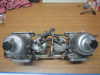 Rebuild SU HS6 AUD331 carburetters