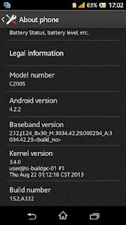 Cara Root Sony Xperia M Dual (C2004/C2005) Android JellyBean 4.2.2