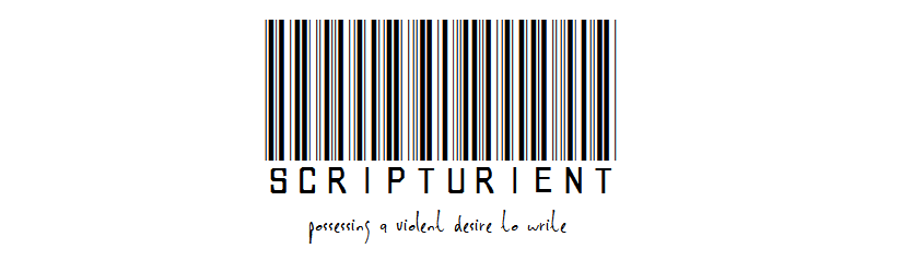 scripturient - a writing blog