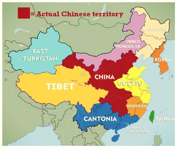Actual Chinese territory - Dr. Subramanian Swamy