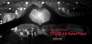 PLEASE CONSIDER DONATING TO THE MUSICARES COVID-19 RELIEF FUND