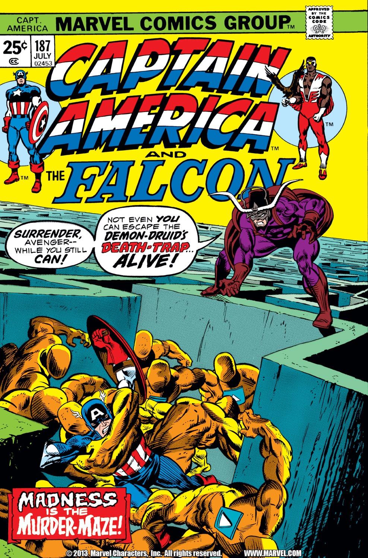 Captain America (1968) Issue #187 #101 - English 1