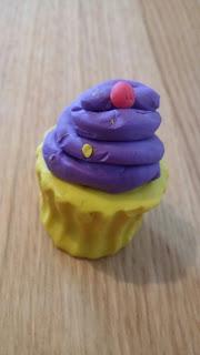cupcake plasticine