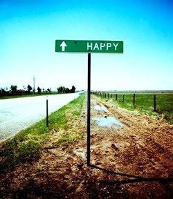 Vivere felicemente è semplice, la strada è la rinuncia