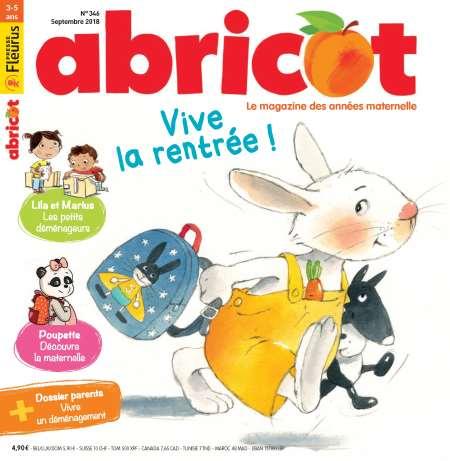 Actuellement dans vos kiosques: Abricot / septembre
