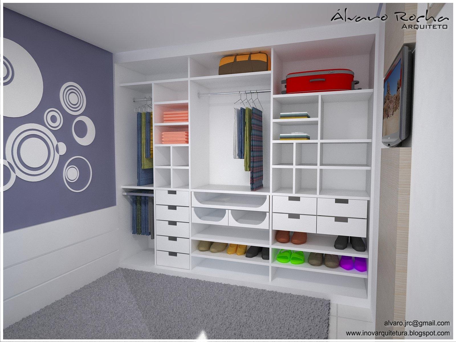 Projetos De Armarios Para Quarto De Casal : Arquitetura de interiores apartamento res vale verde ii