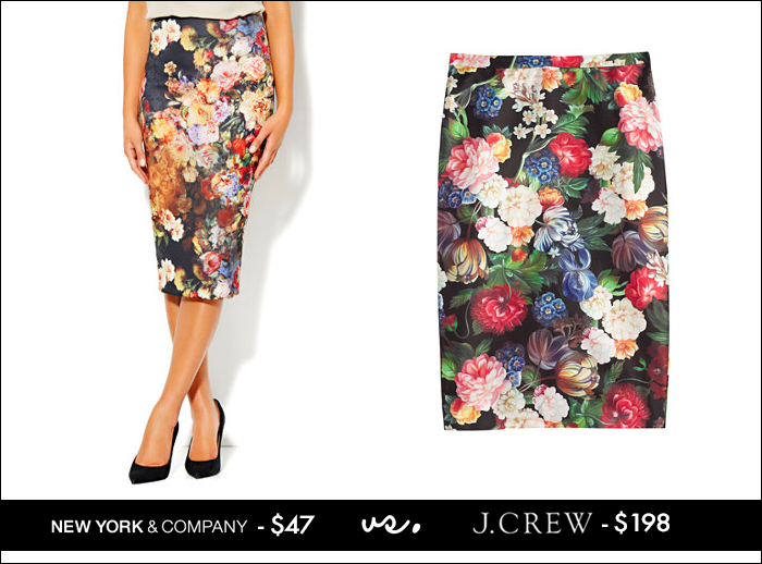 floral skirt, pink peonies, j.crew, pencil skirt, look for fall