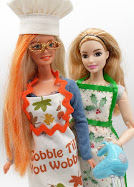 diy barbie blog: free holiday apron pattern, no-sew