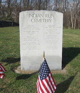 Indian Run Cemetery Dublin Ohio