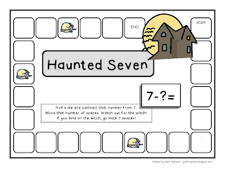 gwhizteacher, haunted seven, math games, math spooktacular