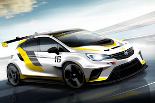 Opel Astra TCR 2016 (Rendering) Front Side