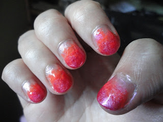 Nails of the Week #2: Ombre Nails @ Beauty Bunker