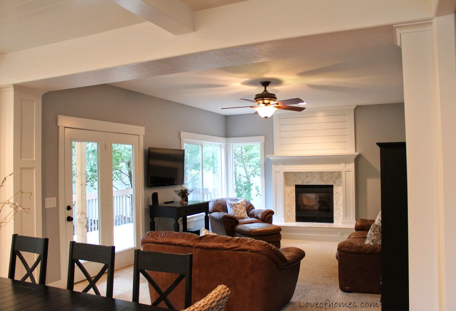 Diy Fireplace Makeover Ideas Before The Grey Paint Wash Red Brick Fireplace Makeover