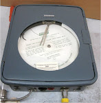 6000 PSI  FOXBORO CIRCULAR CHART RECORDER 40MR-RFE2F 898480_1