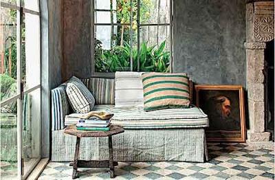 desain interior ruang tidur rumah eropa