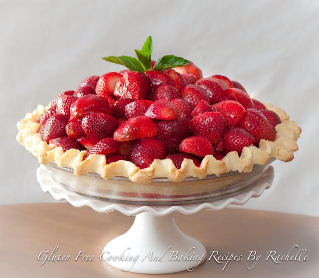 Glute-free Dairy-free strawberry Pie