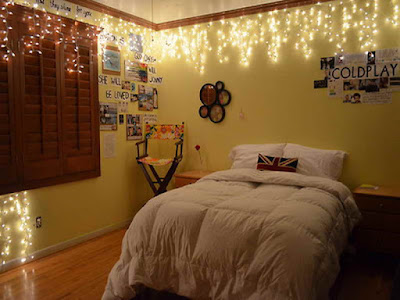 String Lights For Bedroom Decorations