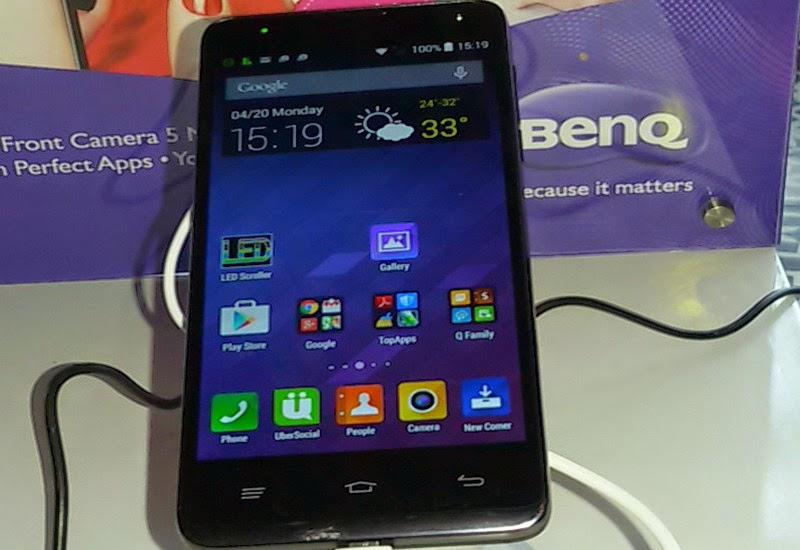BenQ B502 Smartphone Selfie dengan Harga Bersaing