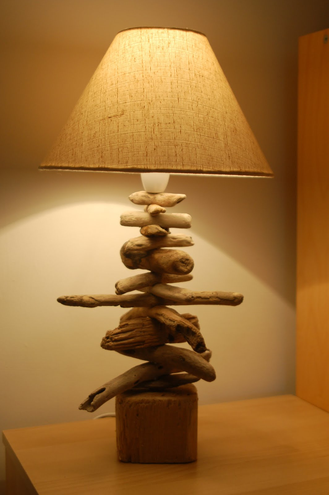 St Ives Driftwood Driftwood Lamps