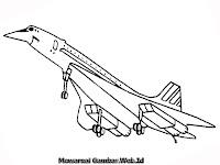 Mewarnai Gambar Pesawat Jet Tempur