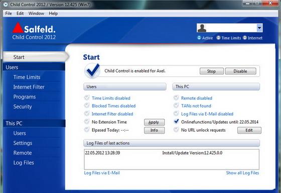Salfeld Child Control 2012 Full Keygen 2