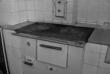 Memorias del viejo pamplona vivencias usos y costumbres for Cocina economica a lena