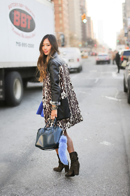 New York Fashion Week in Leopard
