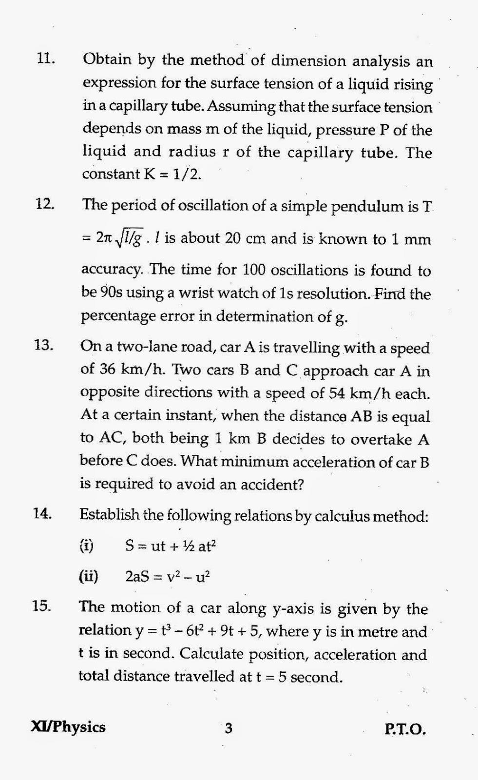 physics term test papers Secondary annuals past papers 2014 physics with regards to levels and tracks, exam papers on the right-hand side are pitched at a higher level of difficulty.