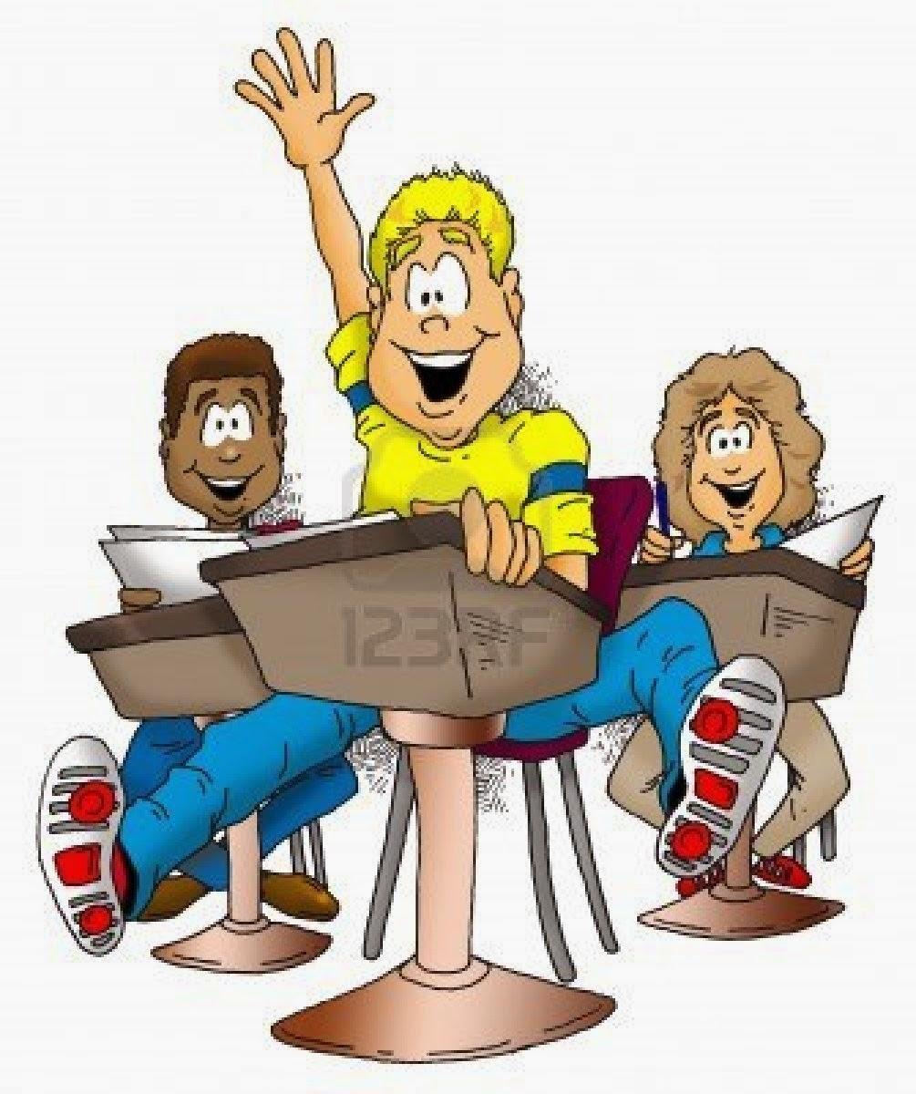 Chiste de Jaimito, maestra, alumnos, redacción, casa.