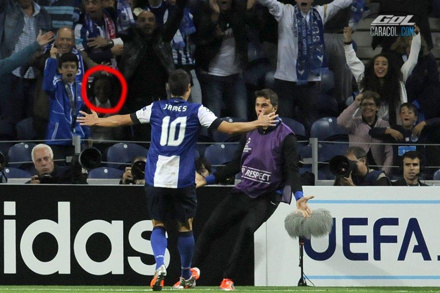 El fantasma que celebra los goles de James Rodríguez