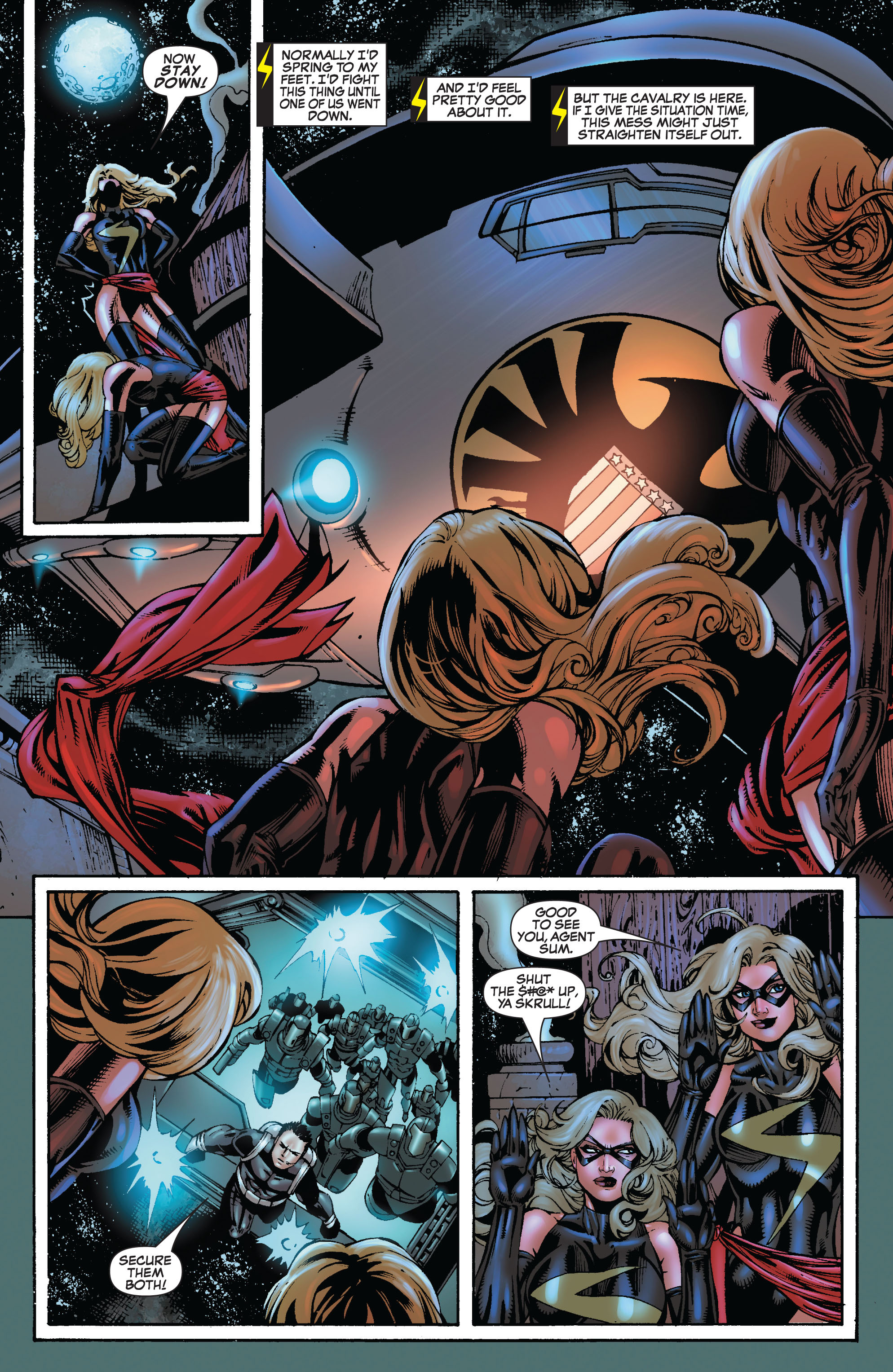 Read online Secret Invasion: The Infiltration comic -  Issue #9 - 13