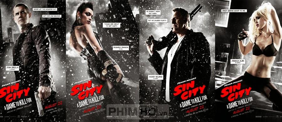 Thành Phố Tội Ác 2 - Sin City: A Dame to Kill For - 2014