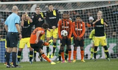 Shakhtar Donetsk-Dortmund 2-2 highlights