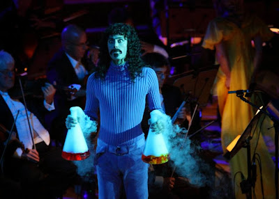 Los Angeles Philharmonic performs Frank Zappa's 200 Motels - The Suites - October 23 2013 - Frank hold foaming broth