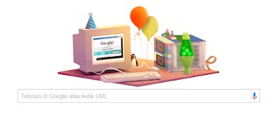 Google Doodle Ulang Tahun 17 .September ,Kapan ulang tahun Google?
