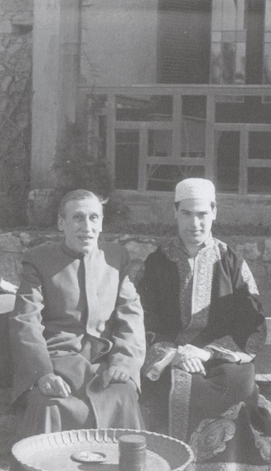 Najm-oud-Dine Bammate - Visites à René Guénon.