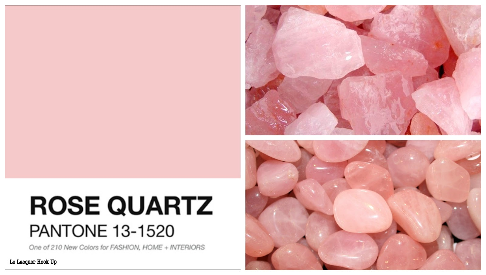 Préférence LE LACQUER HOOK UP: Pantone Colors of the Year 2016: Rose Quartz  WT24