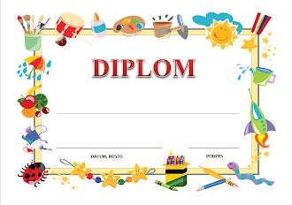 Diplomy pro děti ke stažení zdarma