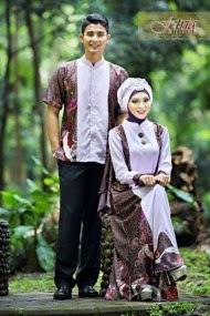 Model Busana Muslim Couple Untuk Pesta