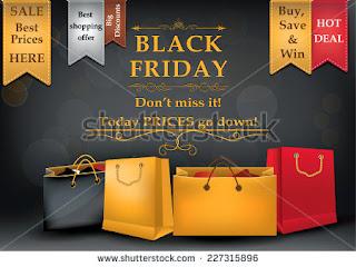 Black Friday poster for print, black friday sticker for printing