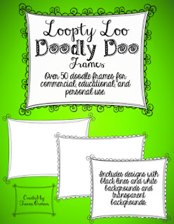 Loopty-Loo Doodly-Doo Frames http://www.teacherspayteachers.com/Product/Loopty-Loo-Doodly-Doo-Clip-Art-Frames-Commercial-Use