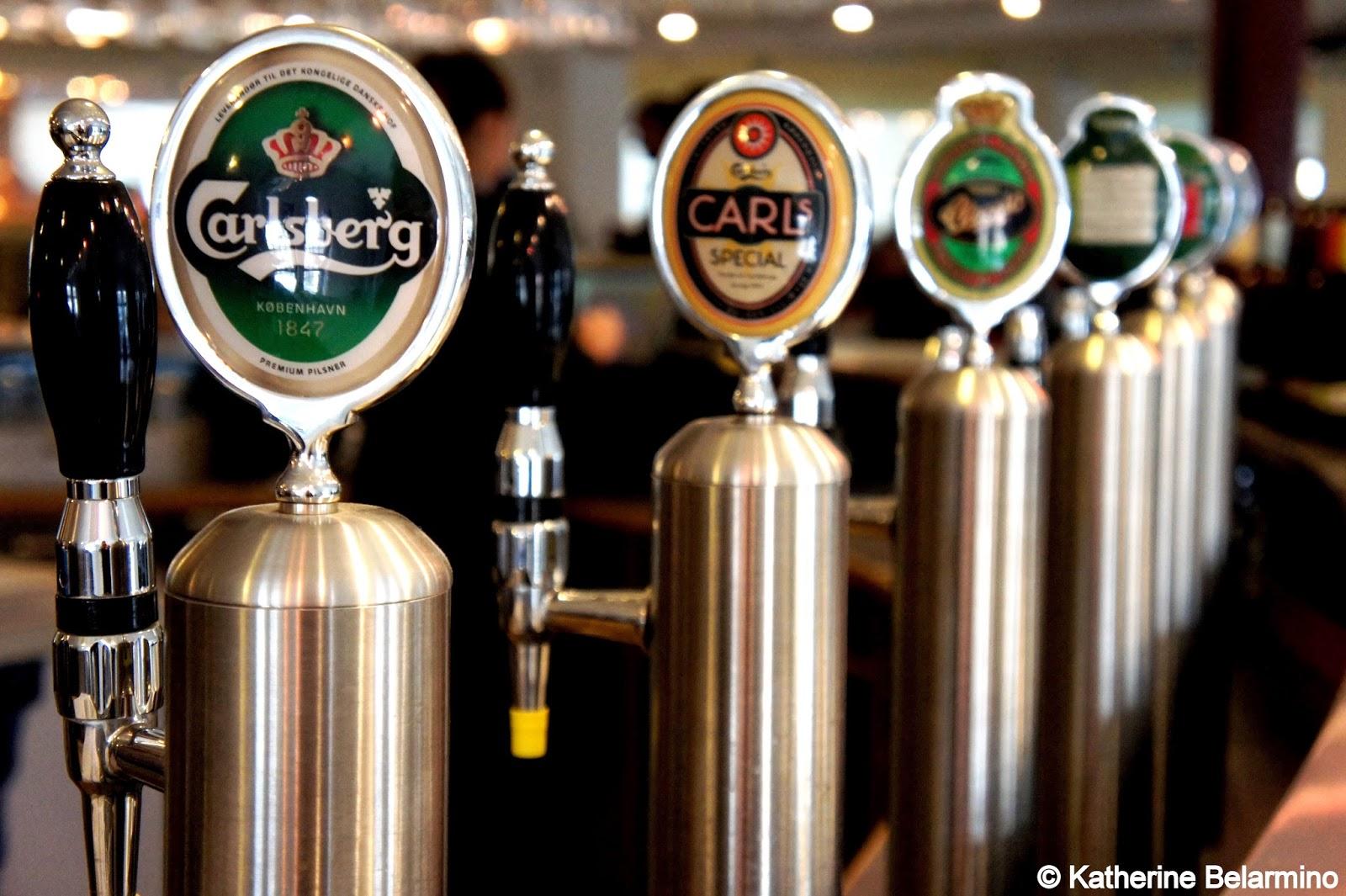Carslberg Taps Carlsberg Brewery Copenhagen Denmark