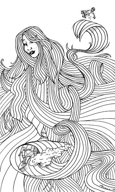 x-treme hair - annie ink