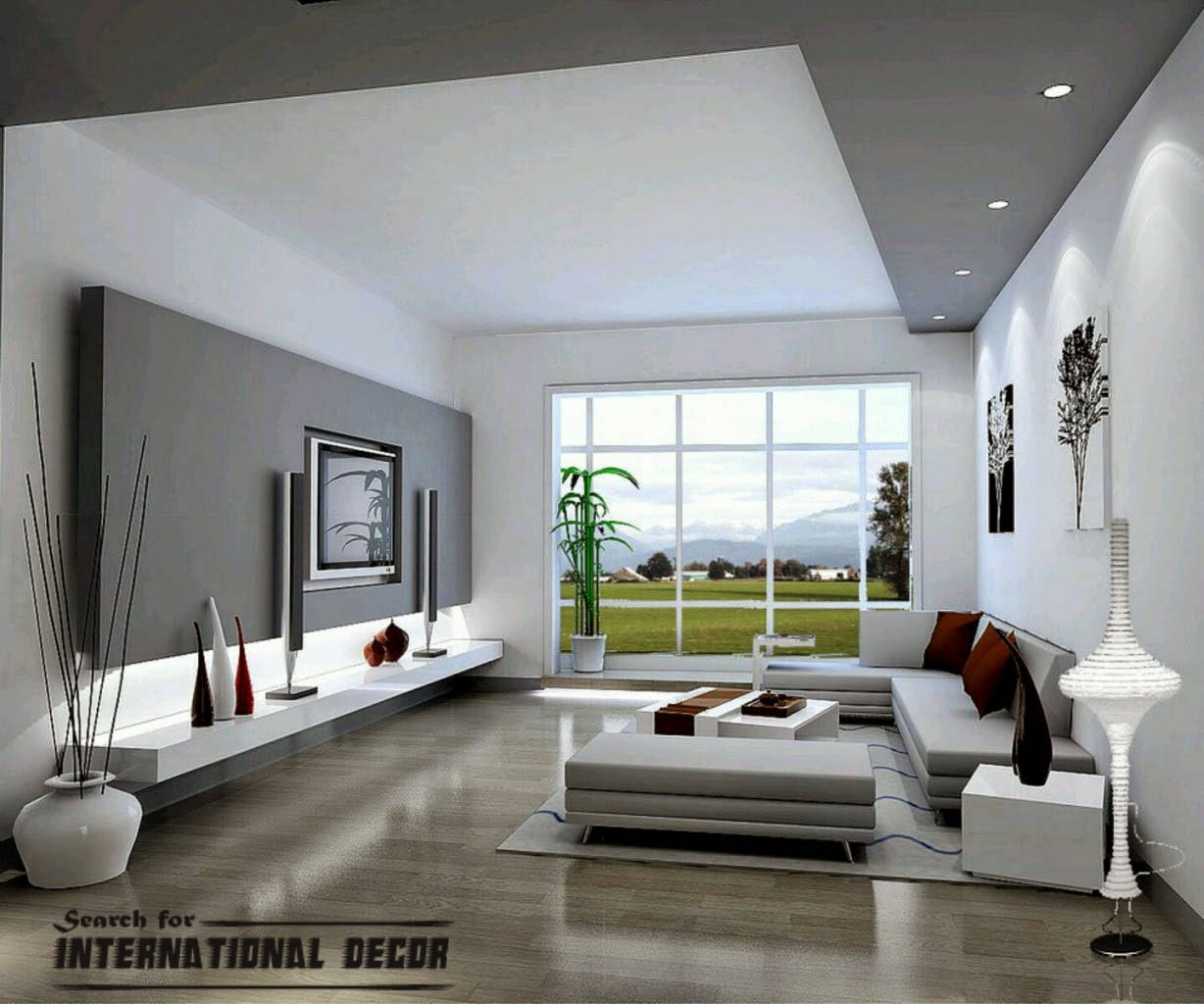 Living Room Modern Home Decorating 5 ways to make modern home decor and design international decoration design