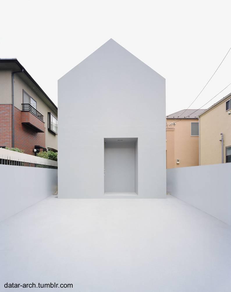 Arquitectura de casas casa fantasma minimalista extrema for Casa minimalista japon