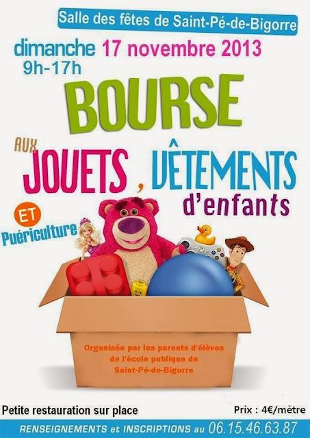 bourse aux jouets 2013 vêtements enfants et article puériculture.