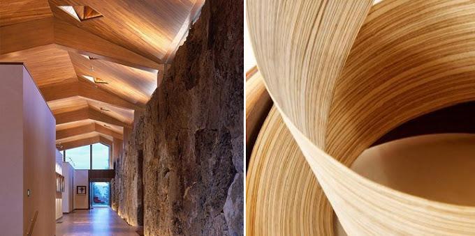 Dise o y chapas de madera espacios en madera - Maderas y chapas ...