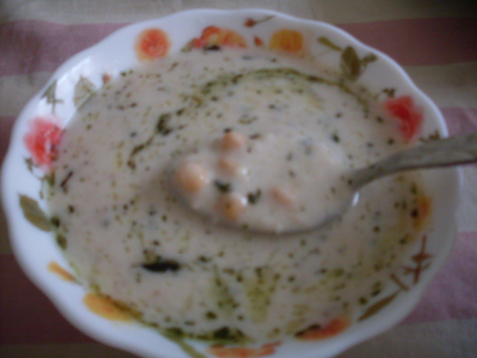 Yoğurtlu Keşkek Çorbası Tarifi