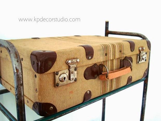 Kp tienda vintage online maleta de viaje vintage for Maletas antiguas online